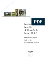 Economic Benefits Three Mile Island