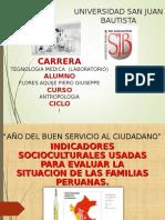 Indicador Sociocultural