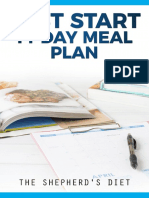 Fast Start 14-Day Meal Plan
