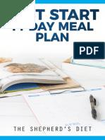 Fast Start 14-Day Meal Plan