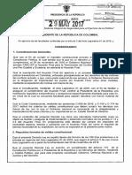 Decreto 895 Del 29 de Mayo de 2017 Sistema Político