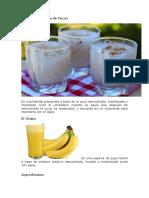 bebidas tradicionals