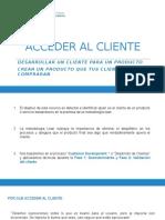 III Acceder Al Cliente