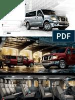 2013 Nissan NV Passenger Brochure