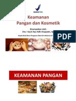 Keamanan Pangan & Kosmetik BPOM