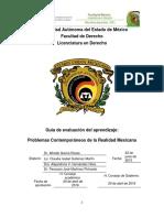 Problemas Contemporaneo de La Realidad Mexicana GUIA PEDAGOGICA