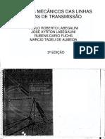 Livro Projetos Mecanicos Das Linhas Aereas de Transmissao Rubens Dario Fuchs