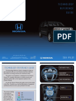 2011 Honda Pilot Manual