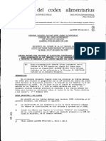 Codex Alimentario Plaguicidas