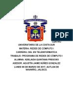 Programa Redes de Computo Adelaida