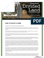 occupythefarm how to occupy