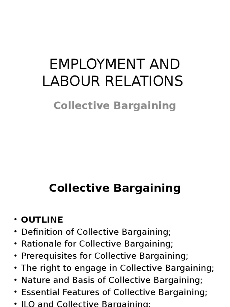 collective bargaining | collective bargaining | bargaining