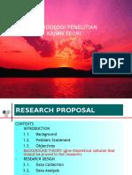 KAJIAN TEORI (Research Proposal)