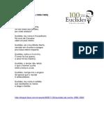 Euclides Da Cunha 1866-1909