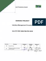 NA OTP PMT 0000 PM PRO 0029 001 Interface Management Procedure 1