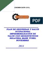 Plan de Seguridad Relavera - Mhar Tunel