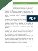 Monografia de La Oefa y Ley Forestal
