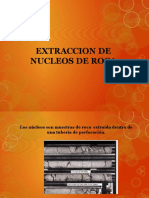 Extraccion de Nucleos de Roca