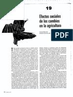 REBORATTI Efectos Sociales de Los Cambios en La Agricultura