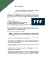 Politica Comercial Del Ecuador