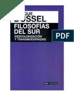 Filosofía el sur. Descolonización y transmodernidad.pdf