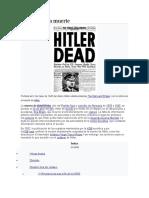 el esacalofriante olocausto