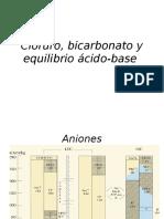 Cloruro, Bicarbonato y Equilibrio Ácido-base Compl