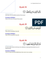 70. Al-Ma'arij 34-44
