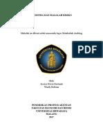 Auditing Dan Masalah Resiko