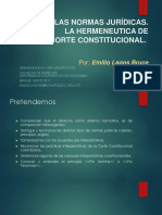 4. Las Normas Juridicas_ La Hermeneutica de La Corte Constitucional