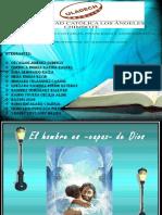 EL HOMBRE ES CAPAZ de DIOS. Diapositivas de Doctrina