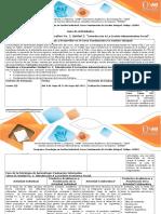 Guia Actividades y Rubrica Evaluacion Estudiar Las Tematicas Unidad 2 Fundamentos Administracion