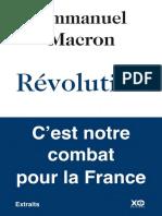 Révolution en PDF ( Emmanuel Macron
