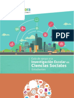 Guia de Estudiantes Investigación Ciencias Sociales Explora