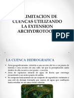 Delimitacion de Cuencas Hidrograficas_presentacion