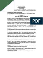 Decreto 2278 de Agosto 2 de 1.982