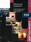 Lightolier Fluorescent Luminaires Catalog 1998