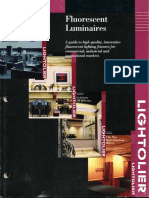 Lightolier Fluorescent Luminaires Catalog 1998