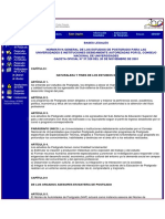 Bases Legales de Los Estudios Doctorales