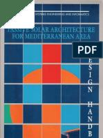 Passive Solar Architecture for Mediterranean Area