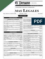 NT DS 015-2005-SA Limites Permisibles Agentes Químicos