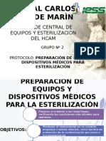 Preparación de Equipos y Dispositivos Médicos Para Su Eterilización