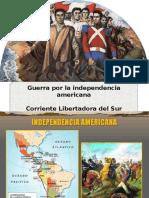 Diapositivas  de corriente Libertadora Del Sur