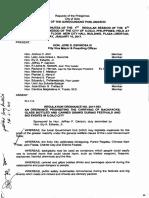 Iloilo City Regulation Ordinance 2017-003