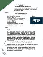 Iloilo City Regulation Ordinance 2017-037