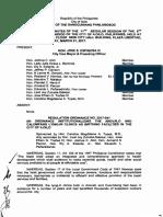 Iloilo City Regulation Ordinance 2017-041