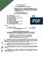 Iloilo City Regulation Ordinance 2017-047