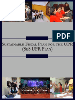 Sustainable Fiscal Plan for the UPR (SoS UPR Plan)