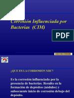 Corrosión Influenciada Por Bacterias