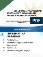 Logical Framework ANALYSIS (LFA) -Revisi
